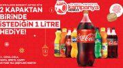 Coca-Cola 1 litre bedava kampanyası