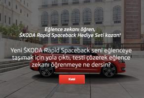 Škoda ile Eğlence Zekasını Öğrenenler Kazanıyor