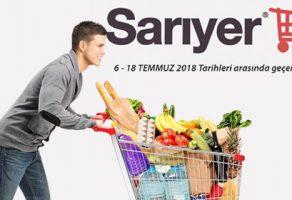 Sarıyer market güncel katalog 6-18 Temmuz 2018