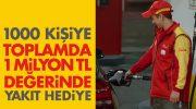 Shell'den 1.000.000 TL'lik hediye akaryakıt kampanyası
