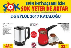 Şok Market 2 Eylül – 5 Eylül Haftasonu İndirimli Ürünleri Kataloğu