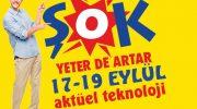 Şok Market 17-19 Eylül Aktüel fırsat ürünleri kataloğu