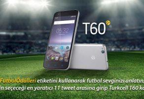 Turkcell, 11 Kişiye T60 Hediye Ediyor