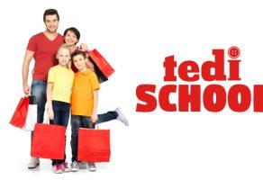 Tedi aktüel ürünlerde okul kampanyası
