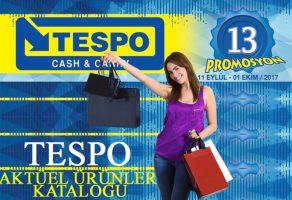 Tespo Marketlerde Eylül – Ekim aktüel ürünler kataloğunda hangi fırsatlar var?