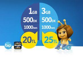 Turkcell yeni aboneler için süper internet paketleri