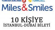 Turkcell, Türk Hava Yolları Miles&Smiles ile Dubai çekilişi
