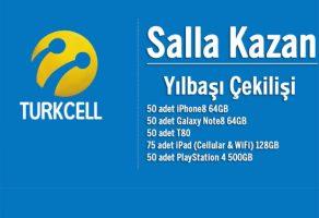 Turkcell Salla Kazan Yılbaşı Çekiliş Kampanyası