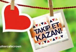 Cafe Crown'dan 10 Kişiye Hediye Paketi
