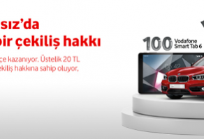 Vodafone, BMW 118i Kampanyası