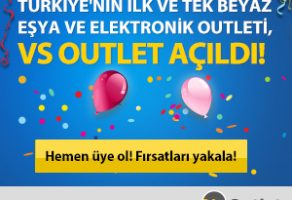 Türkiye'nin ilk ve tek beyaz eşya outlet sitesi